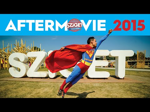 Voir la vidéo : Official Aftermovie - Sziget 2015