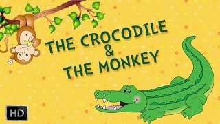 getlinkyoutube.com-Tales of Panchatantra - The Crocodile And The Monkey - Moral Stories for Kids - Animated Cartoon