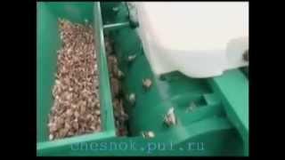 getlinkyoutube.com-Сеялка для чеснока сажалка для чеснока