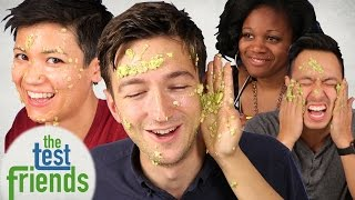 getlinkyoutube.com-DIY Vs. Professional Masks • The Test Friends
