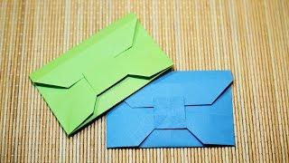 getlinkyoutube.com-How to fold a Paper Envelope - Origami วิธีพับซองจดหมาย