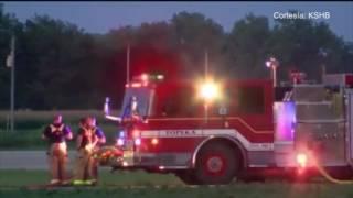 Dos hombres murieron en un accidente aéreo cerca de Topeka