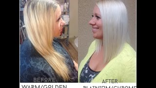 getlinkyoutube.com-How to get Blonde Hair to WHITE Blonde Hair Tutorial | IT WORKS | Part 1