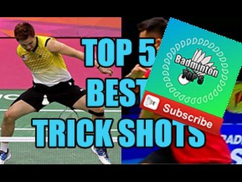 Badminton TOP 5 NEW CHANNEL! Best trick shots