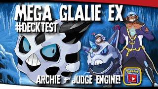 getlinkyoutube.com-Pokémon TCG - Glalie EX Judge + Archie Deck! #DECKTEST