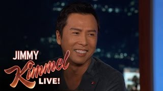 getlinkyoutube.com-Donnie Yen Reveals His First Line from Rogue One: A Star Wars Story