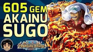 getlinkyoutube.com-605 Gem Akainu Sugofest Batch - Mistakes Were Made [One Piece Treasure Cruise]
