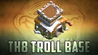 Base Builds- TH 8 Troll Base!