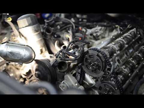 Range Rover Sport Замена цепи ГРМ