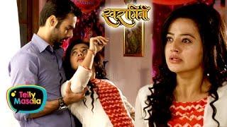 Swara & Sanskar CUTE Romance | Swaragini width=
