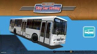 getlinkyoutube.com-[City Car Driving] MNefAZ 5299 (bus) [G25]