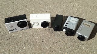 getlinkyoutube.com-Action Cam Comparison - Xiaomi Yi, Mobius, RunCam HD, Turnigy Action Cam