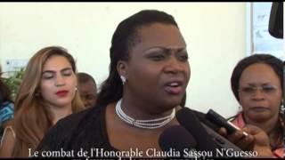 getlinkyoutube.com-Le combat de l'Honorable Claudia Sassou N'Guesso en faveur de la veuve congolaise