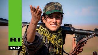 getlinkyoutube.com-Cómo las mujeres kurdas hacen que el Estado Islámico se tambalee