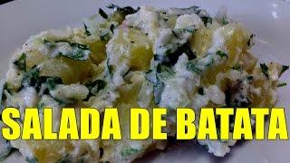 getlinkyoutube.com-😋SALADA DE BATATA COM MAIONESE DELICIOSA CONFIRA 😋POR MARA CAPRIO