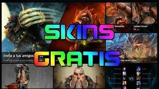 getlinkyoutube.com-COMO CONSEGUIR HASTA 7 SKINS GRATIS - League of legends / SnakeFlame