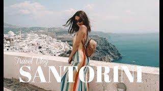 Travel Vlog  Santorini, Greece