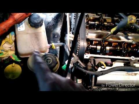 Ford Mondeo мотор Zetec - e 2L 2000г замена ГРМ