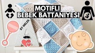 getlinkyoutube.com-Motifli Bebek Battaniyesi 1