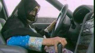 أول مواطنة تحصل على رخصة قيادة