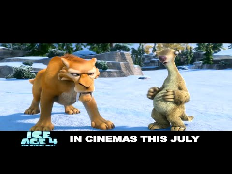 Ice Age 4 Continental Drift - Official Trailer -Etotnjzwf-s