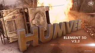 getlinkyoutube.com-HUMVEE Free Element 3D v2.2 Model