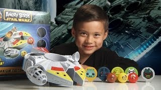 getlinkyoutube.com-Angry Birds Star Wars MILLENNIUM FALCON BOUNCE GAME & Epic World Record Bounce!!!