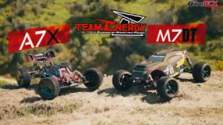 Team Energy 1/7th Scale A7X Buggy & M7DT Truggy in Action