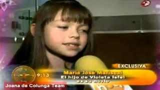 getlinkyoutube.com-María José Mariscal: (Valentina) ¡Ya tiene novio real! Omar Isfel