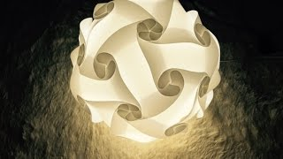 getlinkyoutube.com-Iq light, Iq lamp, jigsaw light, jigsaw lamp, puzzle lamp, puzzle light, 30piece instruction
