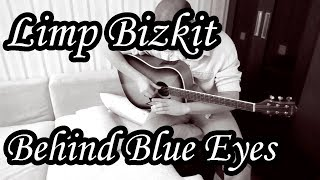 Limp Bizkit - Behind Blue Eyes (Acoustic cover by Sergio)