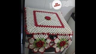 getlinkyoutube.com-capa de fogão em crochê