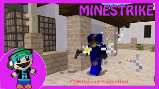 Minecraft Minestrike Shooting Mini Game on Mineplex