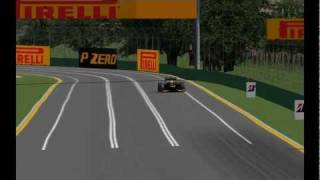 Test privados rFactor SP F1 2012