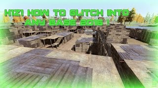 getlinkyoutube.com-H1Z1 - How To Glitch Into Any Base ! 2016