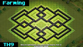 getlinkyoutube.com-Clash Of Clans | TH9 FARMING BASE 2015 [Skorpion]