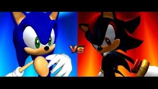 getlinkyoutube.com-Sonic Adventure 2 Battle: Return to City Escape ~Sonic vs. Shadow~