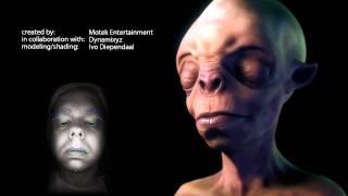 getlinkyoutube.com-Markerless Facial Motion Capture Tech Demo