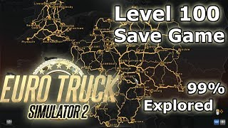 Euro Truck Simulator 2 - Cheats, Super Save, All Map Truck Dealers, Money, how to tutorial, mods.