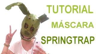 getlinkyoutube.com-Cómo hacer la máscara de Springtrap - FNaF 3