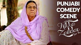 FUNNY COMEDY SCENE   Ammy Virk   Nikka Zaildar   PUNJABI COMEDY SCENE