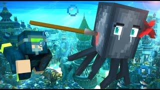getlinkyoutube.com-Squid Life - Minecraft Animation