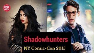 NYCC 2015: Emeraude Toubia e Alberto Rosende de Shadowhunters