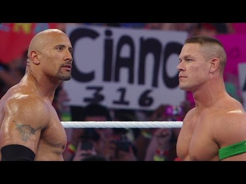 John Cena vs. The Rock: DVD Preview WrestleMania XXVIII