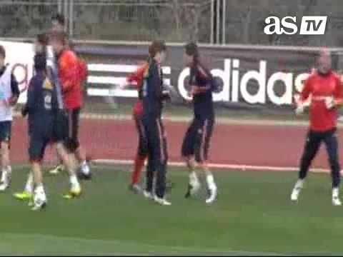 La Furia Roja: Training (3/22/11)