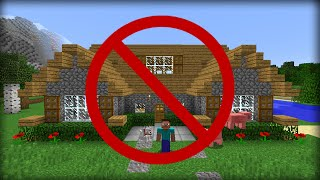 getlinkyoutube.com-✔ Minecraft: 5 Ways to Hide Your House from Friends