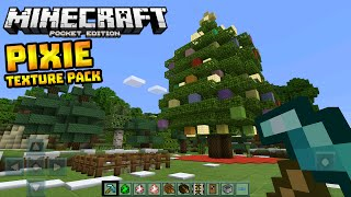 getlinkyoutube.com-PIXIE TEXTURE PACK in 0.13.0!!! - Amazing Texture Pack - Minecraft PE (Pocket Edition)