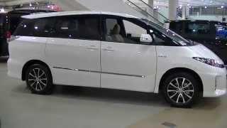 getlinkyoutube.com-Toyota Previa(Estima )hybrid トヨタ エスティマハイブリッド アエラス 7人乗り 特別仕様車 VERY Edition 動画