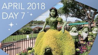 NEW! Walt Disney World Vlog   Day 7   Magic Kingdom & Epcot   April 2018   Adam Hattan