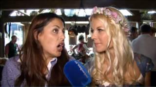 getlinkyoutube.com-Wiesn: Funda Vanroy auf dem Oktoberfest